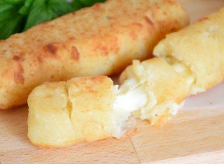 Flauti salati alle patate e formaggio