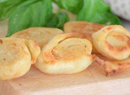 Girelle di patate al parmigiano