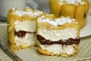 Tortine fredde pavesini mascarpone e nutella