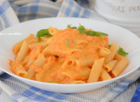 Pasta alla crema di peperoni poche calorie