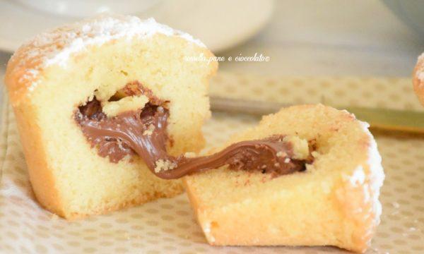 Tortine alla Nutella senza burro