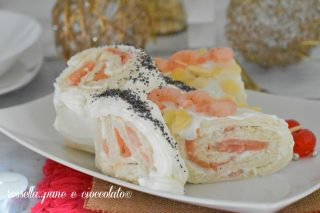 Tronchetto salato al salmone
