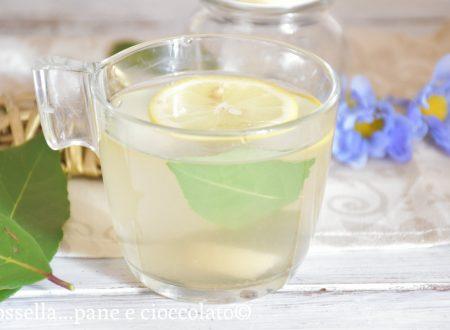 Tisana digestiva alloro e limone
