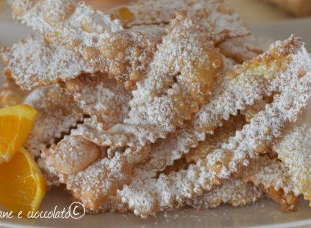 Ricetta Chiacchiere all Arancia