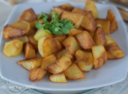 Patate in padella croccanti con il trucco del microonde
