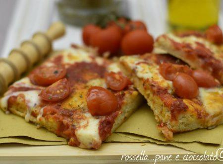 Pizza senza impasto e con poco lievito