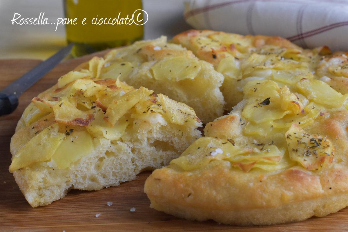 Impasto Focaccia alle patate facile