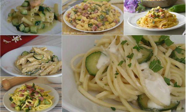 10 Primi piatti con le Zucchine mai visti