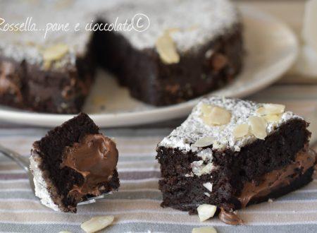 Ricetta furba della Torta Caprese alla Nutella senza farina