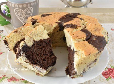 Ciambellone Panna e Cioccolato Altissimo e Soffice