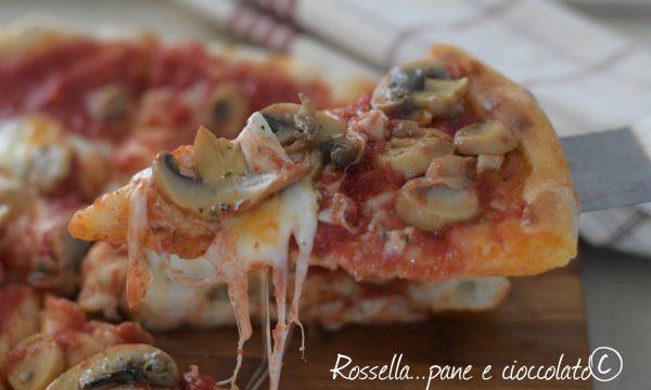 Pizza come in pizzeria cottura nel forno di casa in soli 5 minuti