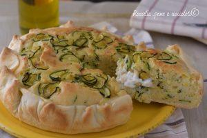 Torta Salata 5 Minuti alle Zucchine