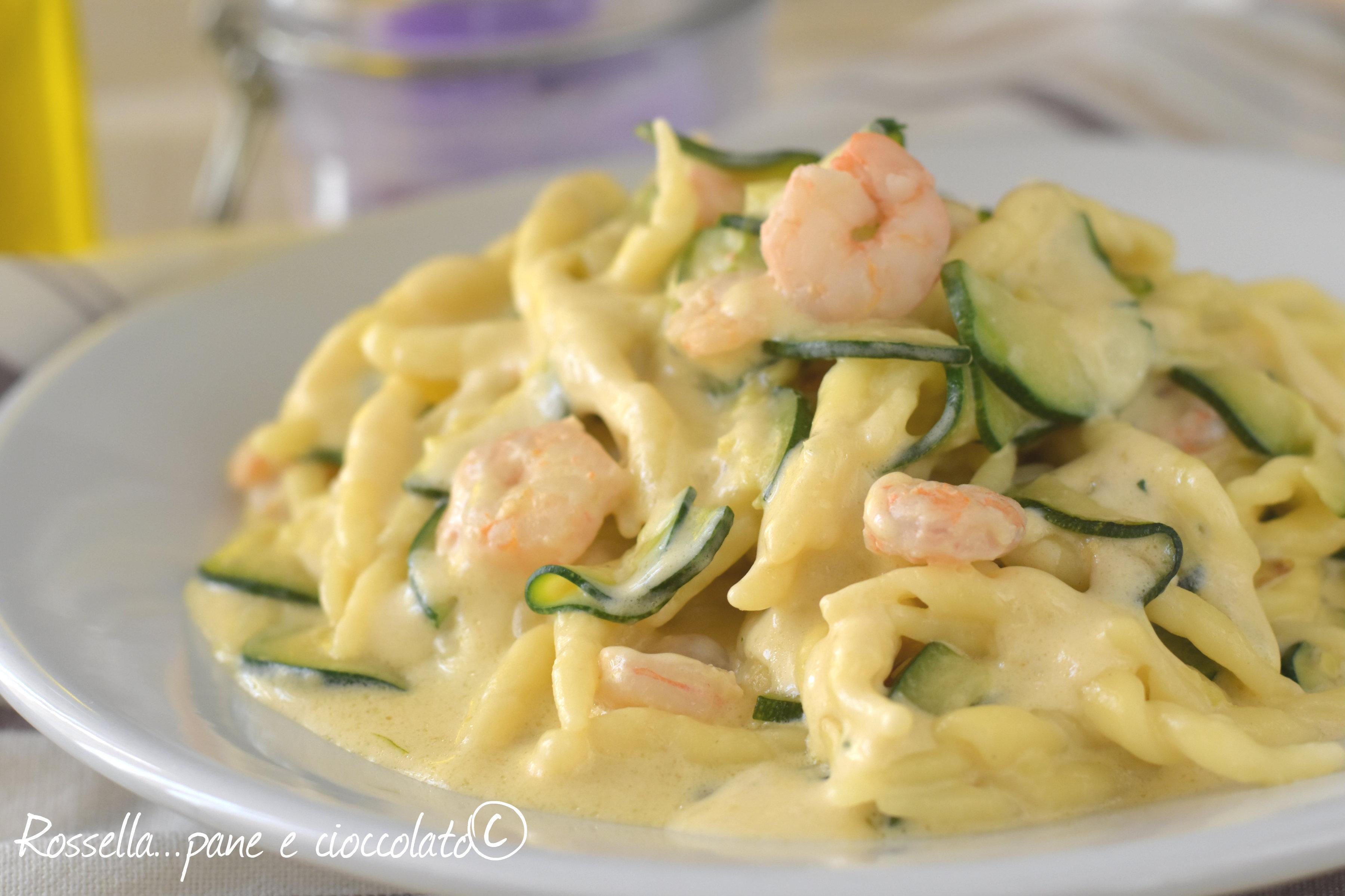 Le trofie zucchine e gamberetti cremose piu 39 facili e for Ricette primi piatti veloci bimby