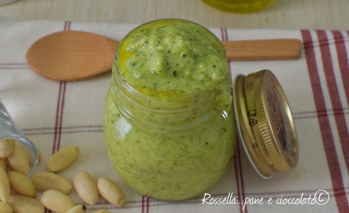 Pesto di Zucchine e mandorle Come farlo rimanere verde