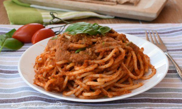 Spaghetti alla Milanese Primo Piatto saporito