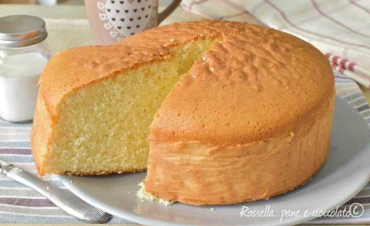 Torta al Latte Senza olio e Senza Burro Altissima