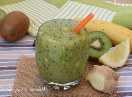 Bevanda Blocca fame dimagrante kiwi e banane senza centrifuga