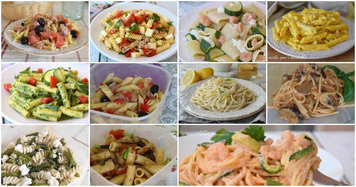 Le 15 ricette di pasta fredda veloce da portare in spiaggia for Marchi di pasta da non mangiare