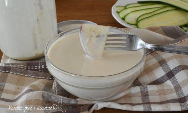 Pastella senza uova in Barattolo allo yogurt