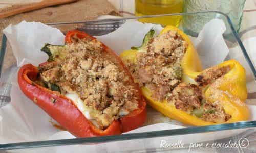 Peperoni ripieni tonno e olive