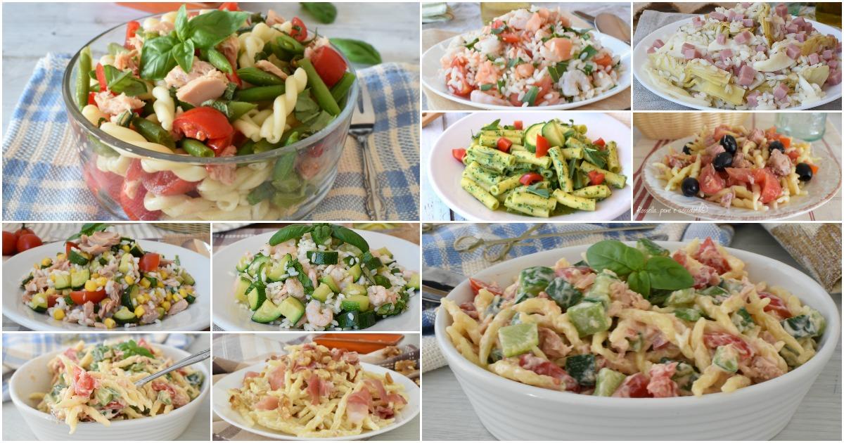 20 primi piatti freddi perfetti quando fa caldo e velocissimi