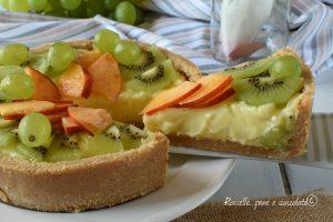 Crostata di Frutta senza forno facilissima