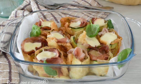 Rotolini di Zucchine e Speck Farciti