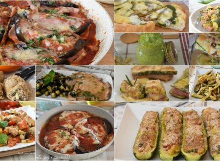 30 Ricette con Zucchine e Melanzane
