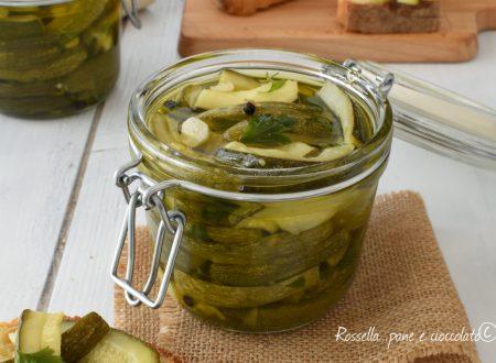 Zucchine sott olio ricetta antica della Nonna