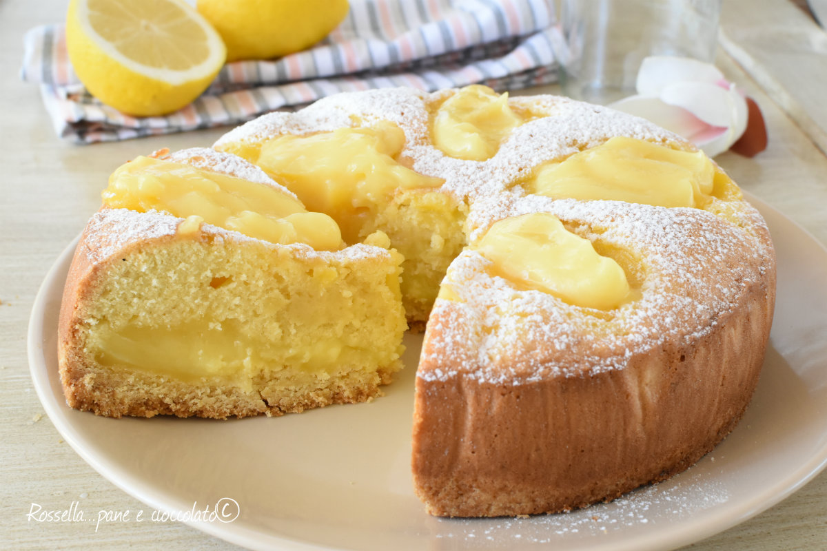 Torta con crema pasticcera che sara\u0027 il vostro successone! Prova ad  utilizzare, per questa ricetta.