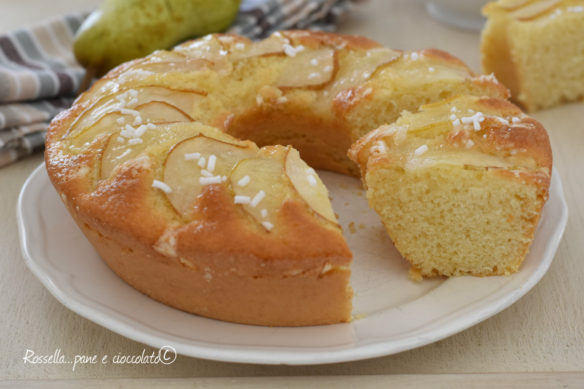 Ricetta torta di pere soffice
