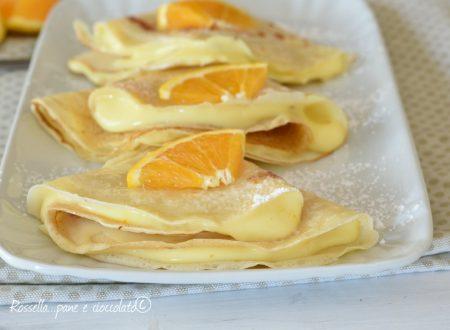 Ricetta delle Crepes all arancia