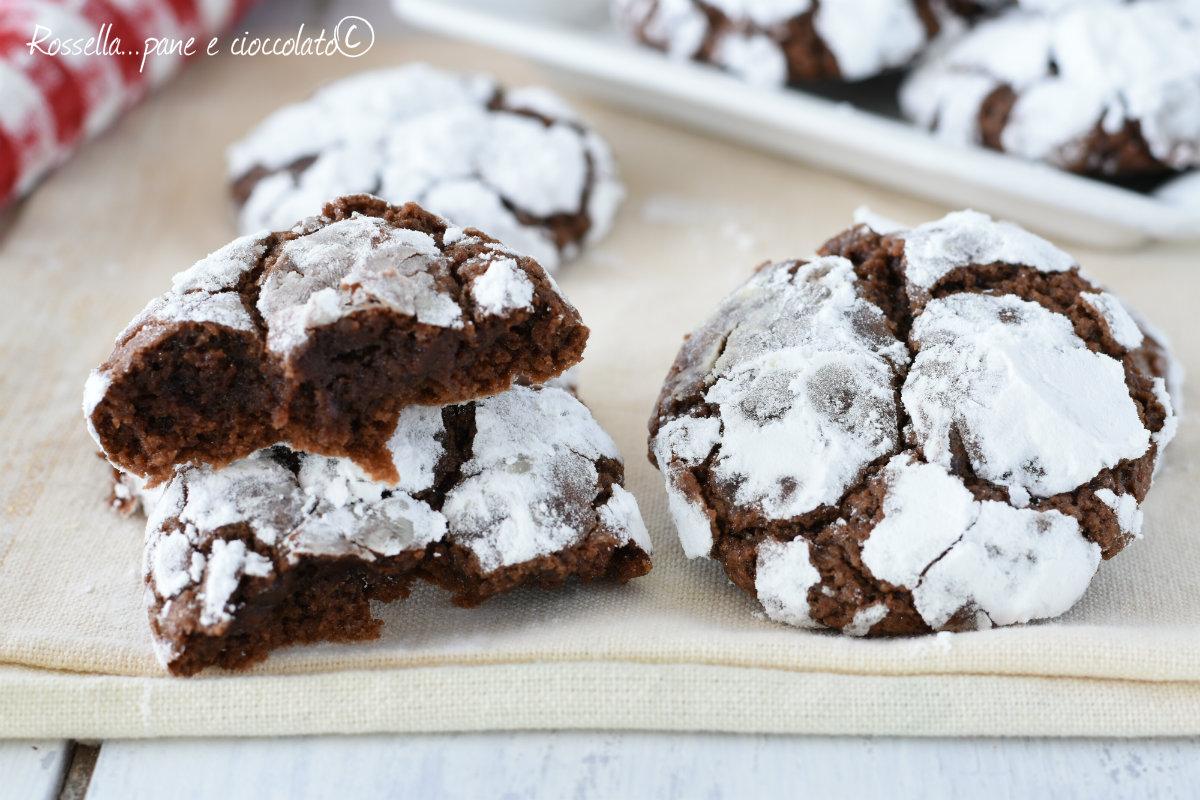 Biscotti al cioccolato senza olio