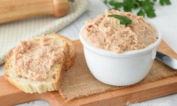 Patè di Tonno senza maionese