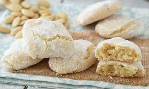 RICCIARELLI MORBIDI Biscotti tipici toscani
