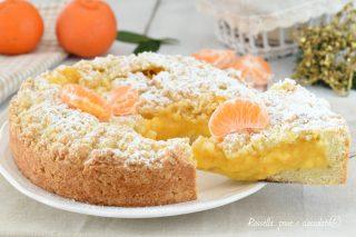 crostata alla crema di mandarini