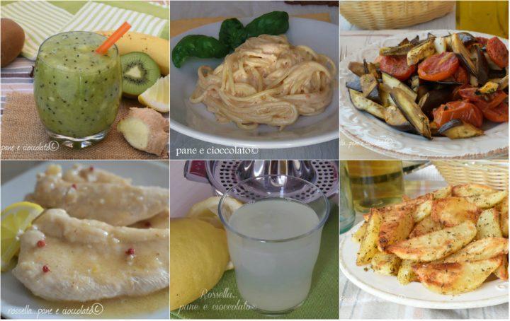 Dieta Settimanale Equilibrata : Menu settimanale da calorie per disintossicarsi e dimagrire