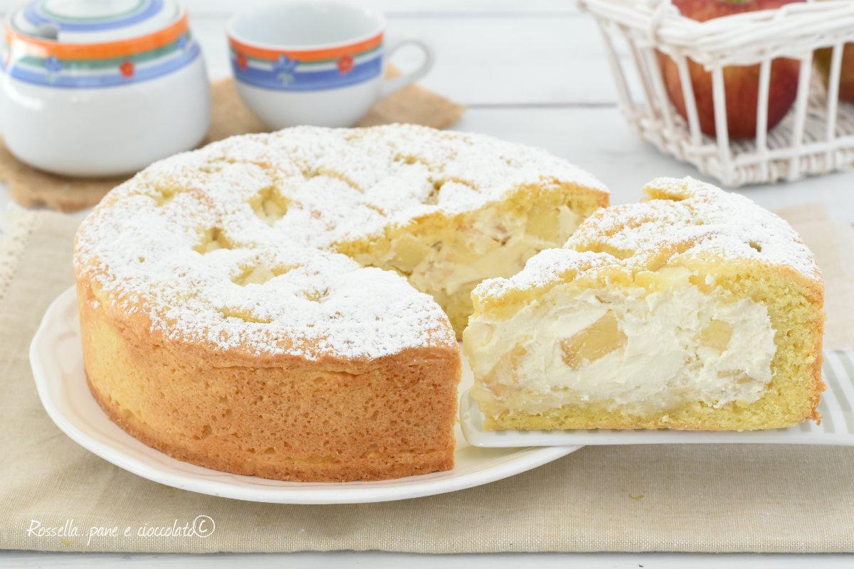 Crostata al mascarpone e mele morbida cremosa e facile for What to do with mascarpone