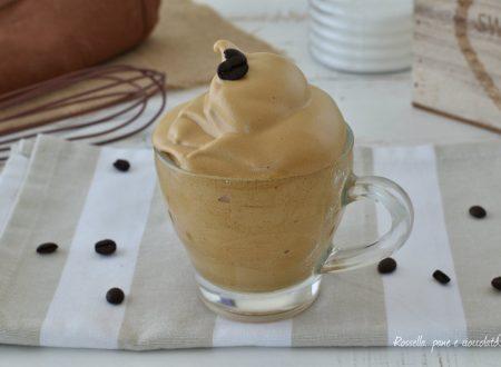 CREMA CAFFE SPUMOSA e LEGGERISSIMA