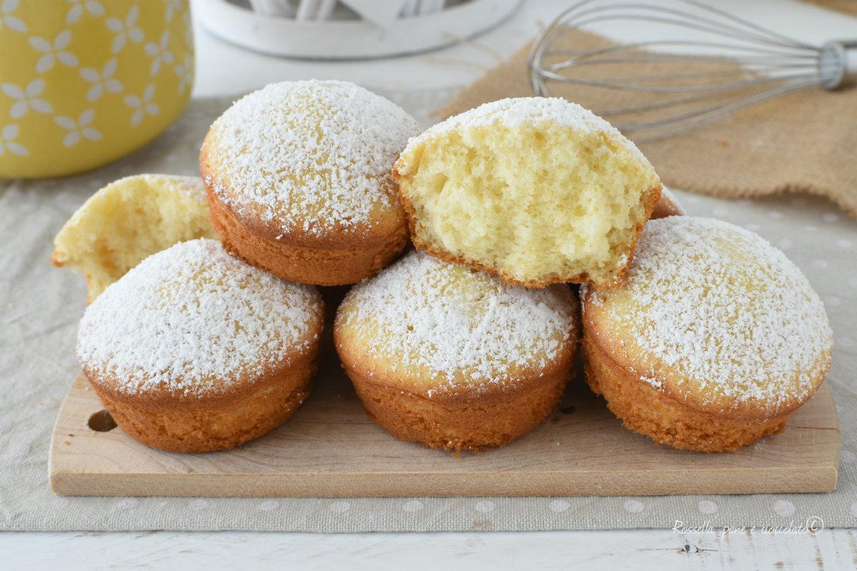 Ricetta Muffin Semplice.Muffin Alla Ricotta Senza Burro Piu Sani Con Impasto Veloce