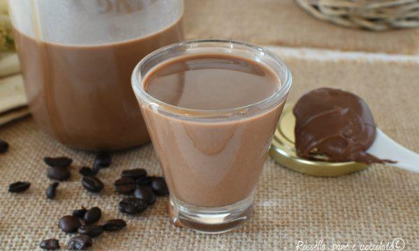 LIQUORE NUTELLA e CAFFE Dolce