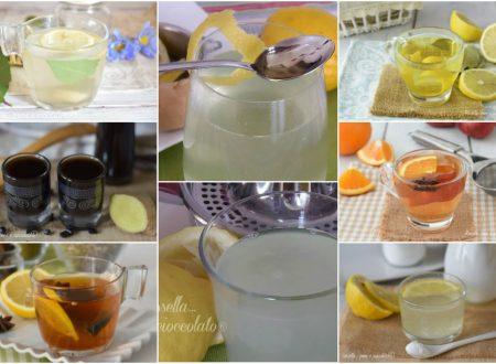 RICETTA DIGESTIVI NATURALI al limone