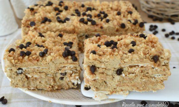 Dolce al biscotto Senza Forno Nutella e Nocciole