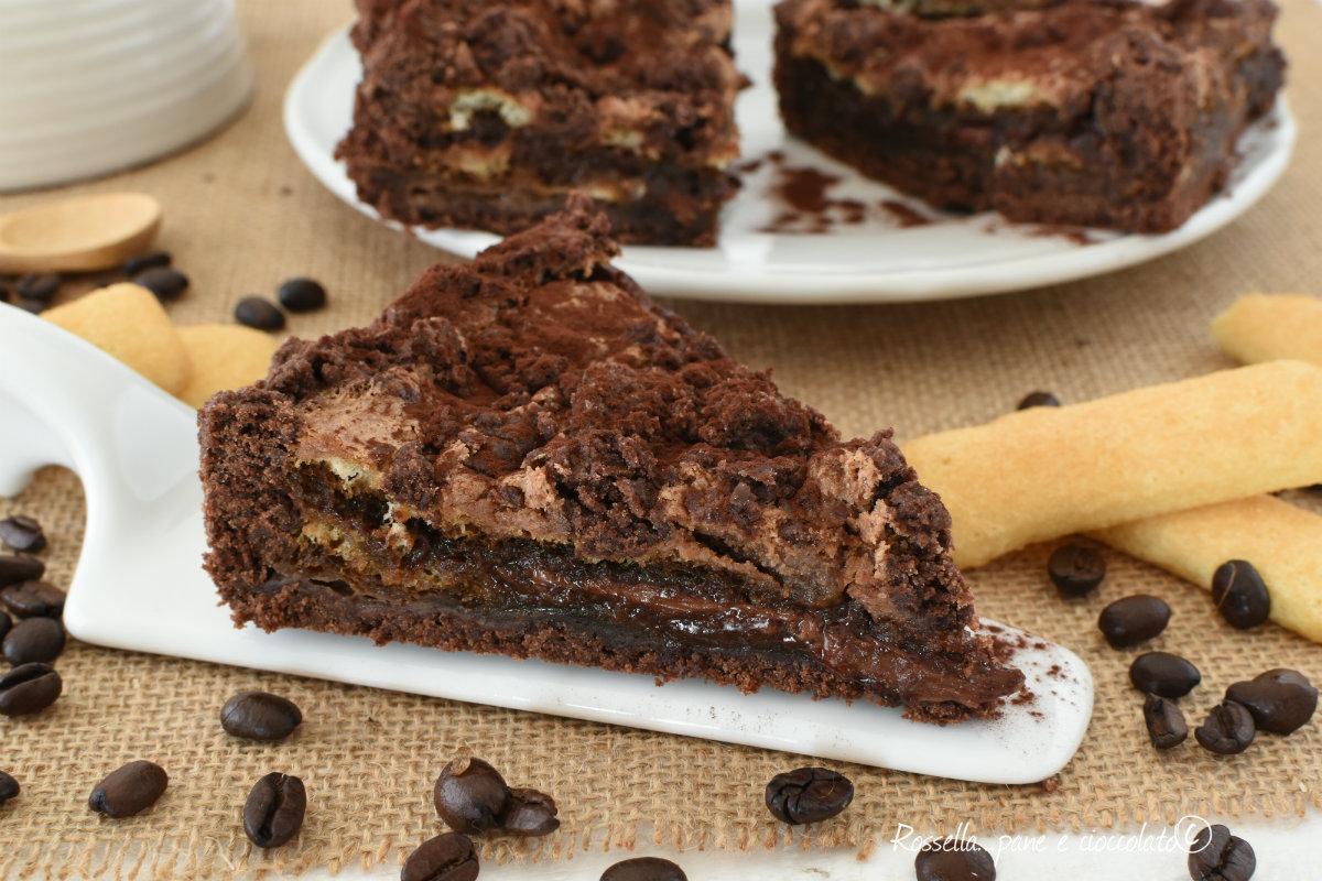 TIRAMISU al FORNO IMPASTO al Cioccolato