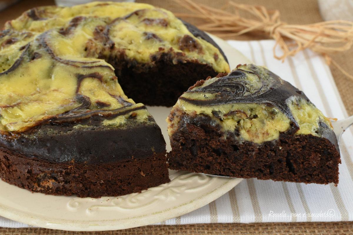 TORTA Nua al Cioccolato e Crema