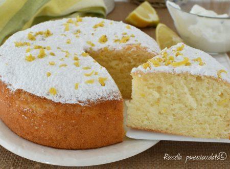 TORTA con IMPASTO del Plumcake Yogurt e limone