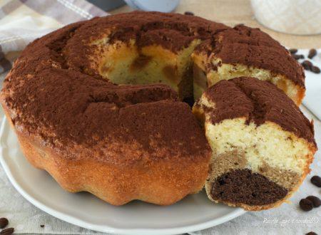 Torta Ciambella al CIOCCOLATO Caffe e Panna