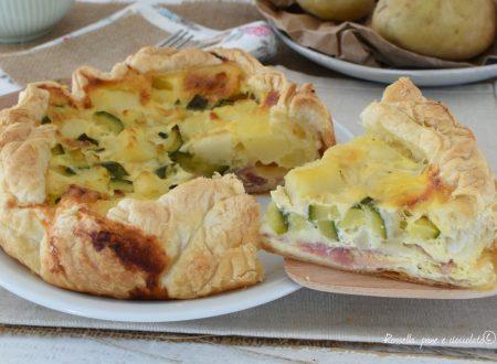 Torta Prosciutto Cotto Patate e Zucchine