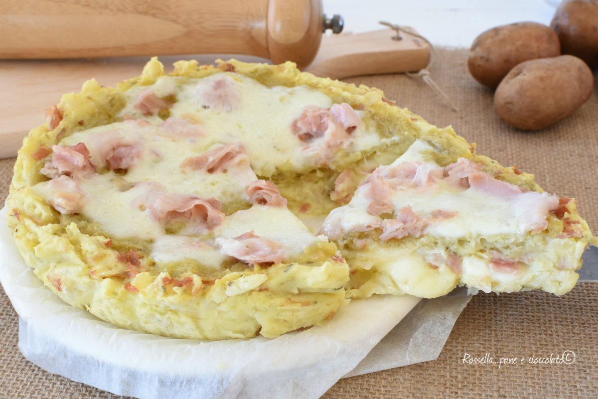 TORTA CROCCHE di PATATE