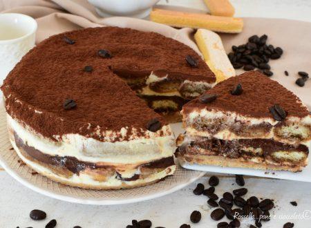 TORTA Cheesecake Tiramisu e Nutella